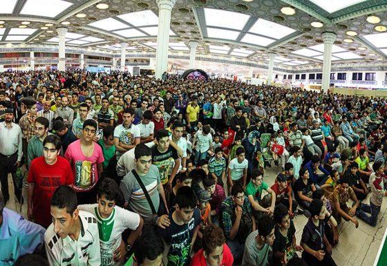 مسابقات نمایشگاه بازی های رایانه ای در مصلی